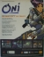 Oni Promotional Flyer (White Background) Box Art