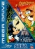 Quackshot Starring Donald Duck / Castle of Illusion Starring Mickey Mouse (white block label) Box Art