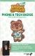Animal Crossing: New Horizons Phone & Tech Badge Box Art