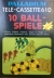 Palladium Tele-Cassette 610 10 Ball-Spiele Box Art